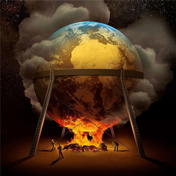 """Trái đất đang nóng lên? Mỗi năm nhiệt độ lại tăng cao hơn trước? Cả con người và động vật thiệt mạng vì hiện tượng nóng lên toàn cầu ngày càng tăng? Đơn giản là vì thế giới này đang nằm trên """"lò lửa"""" của một số kẻ nào đó mà thôi. (Ảnh: Igor Morski)"""
