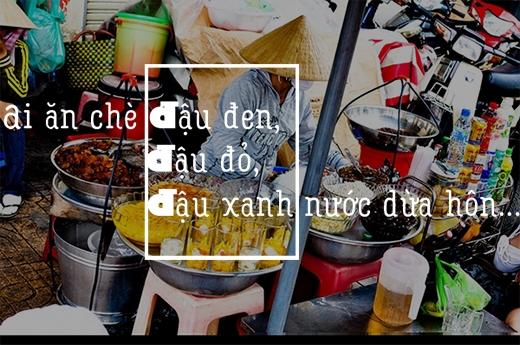 Tuổi thơ của những đứa trẻ Sài Gòn chắc có lẽ không thể thiếu những những tiếng rao của cô gánh bán chè mè đen, chè đậu đen. Nó bỗng dưng trở thành một phần của tuổi thơ đẹp đẽ.(Ảnh: Internet)