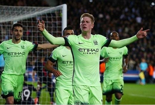 De Bruyne mang đến sự sáng tạo cho hàng công Man City. (Ảnh:UEFA)