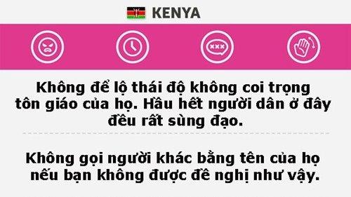 Những điều cần nhớ khi đi du lịch Kenya.