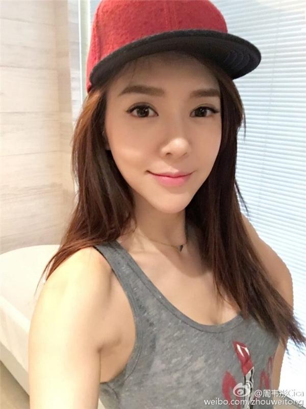 Với dáng vóc khỏe khoắc và thon gọn, Châu Vỹ Đình được công đồng mạng Trung Quốc xem như là một nữ thần thể dục. (Ảnh: Internet)