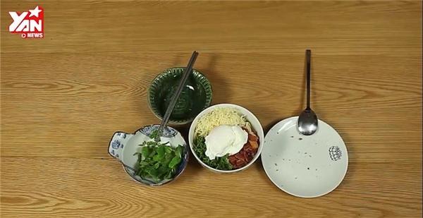 món udon trộnphô mai ngon, bổ, rẻ