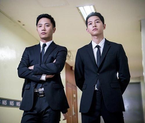 Song Joong Ki và Jin Goo diễn xuất rất ăn ý.