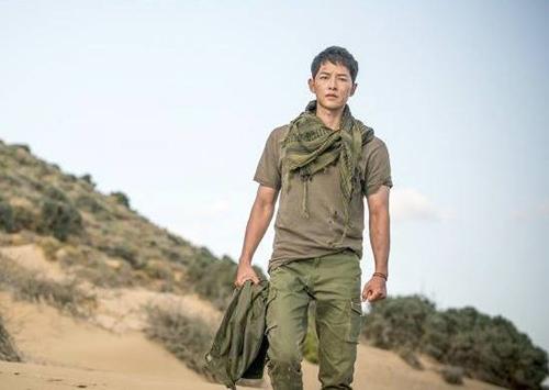 Sự trở về hoành tráng của Đại úy Yoo Shi Jin trong tập 15.