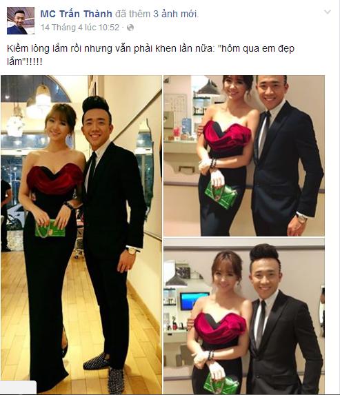 """Vẻ đẹp của Hari Won khiến Trấn Thành không """"kiềm lòng"""" được mà phải thốt lên: """"Hôm qua em đẹp lắm"""" - Tin sao Viet - Tin tuc sao Viet - Scandal sao Viet - Tin tuc cua Sao - Tin cua Sao"""