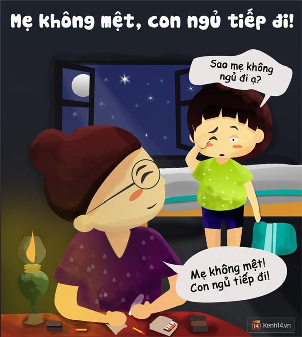 8 lời nói dối của mẹ