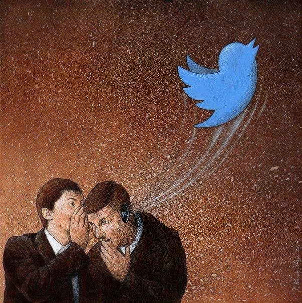 Bí mật không nói ra thành lời, nhưng được lan truyền bằng những dòng chữ trên Twitter.(Ảnh: Internet)
