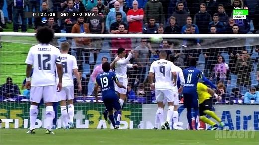 Ronaldo thi đấu 90 phút trong chiến thắng 5-1 trước Getafe.