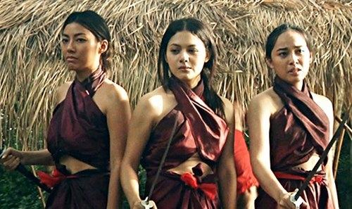 ... và của phụ nữ Thái Lan 300 năm trước được thể hiện trên phim ảnh.