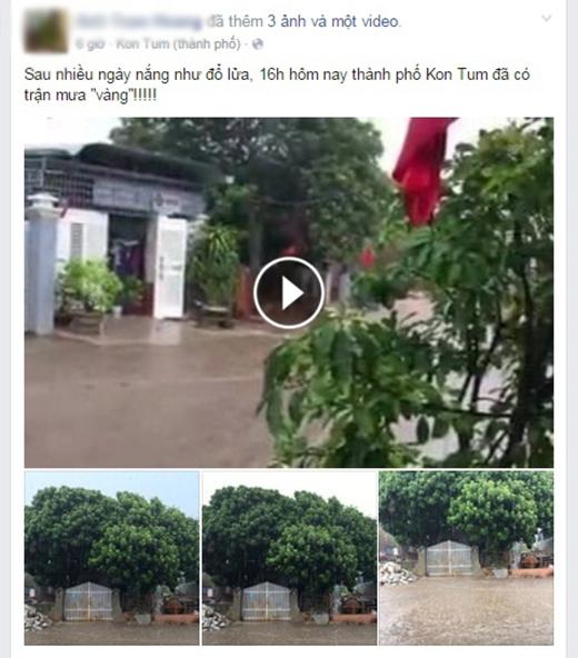 Kon Tum sau những ngày hạn hán: