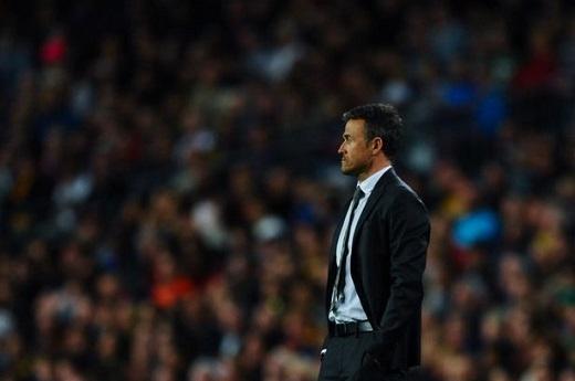 Barcelona của Enrique lại thua. (Ảnh: Internet)
