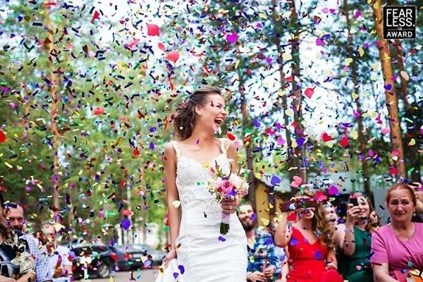 Cô dâu Andrey ở Nga.