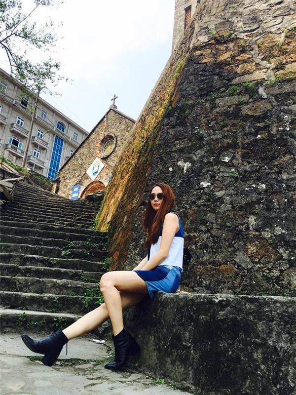 Tuyệt chiêu dạo phố đầy thu hút của Hồ Ngọc Hà, Phương Trinh