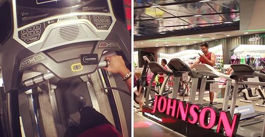 Nỗ lực tập gym cực khổ mà đáng ngưỡng mộ thế này sao lại có người nỡ bóc mẻ chứ? (Ảnh: Hồ Anh Đức)