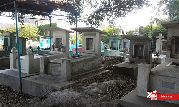 Khung cảnh ảm đạm của một trong những nghĩa trang lớn nhất Sài Gòn.