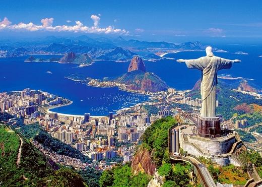 Rio de Janeiro ở Brazil nổi tiếng vớinhững bãi biển thiên đường, cuộc sốngnhộn nhịp và là điểm ăn uống lí tưởng. (Ảnh: Internet)