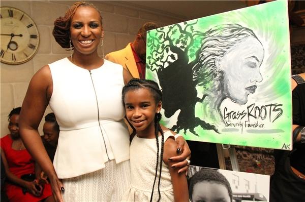 Marley và mẹ - chịJanice Johnson Dias –đồng sáng lập tổ chức xã hội Qũy cộng đồng GrassROOTS.(Ảnh: Internet)