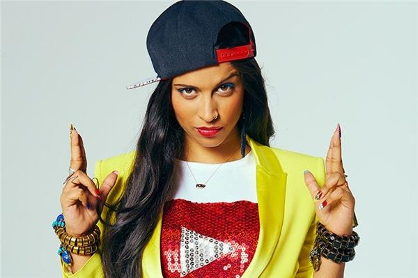 Lilly Singh ước tính có khối lượng tài sản 1 triệu đô la.(Ảnh: Internet)