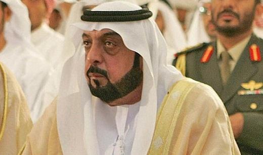 Tổng thống Sheikh Khalifa.
