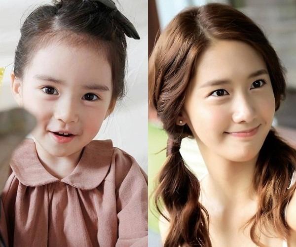 Sở hữu đôi mắt sáng cùng nụ cười tỏa nắng giống YoonA. (Ảnh: Internet)