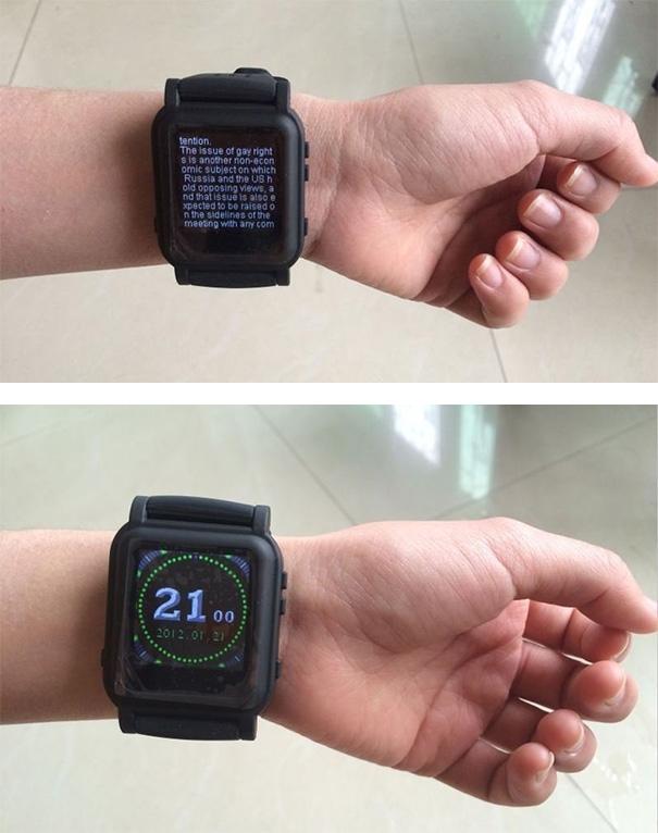 Có ai muốn có một chiếc đồng hồ như này không?