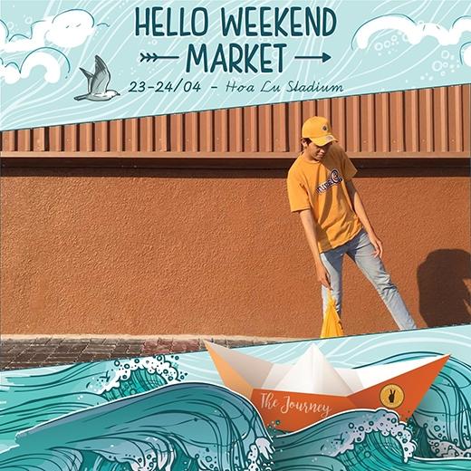 Trải nghiệm hành trình mới cùng Hello Weekend Market