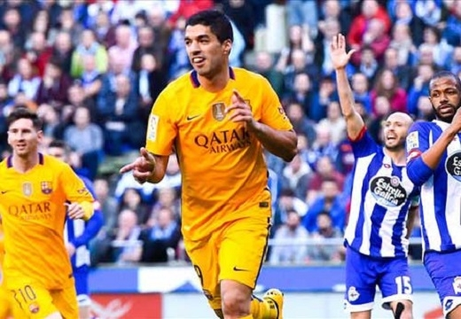 Suarez rực sáng trong chiến thắng 8-0 của Barca trước Deportivo