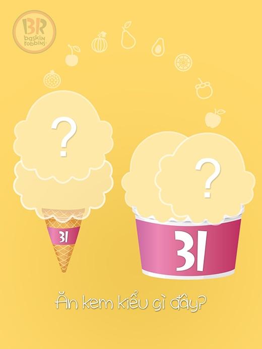 Bạn sẽ lựa chọn kem ốc quế hay kem cup?