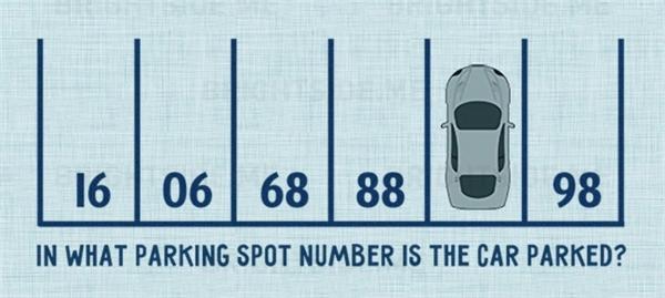 Vị trí chiếc xe đang đậuđược đánh số mấy? (Ảnh: Bright Side)