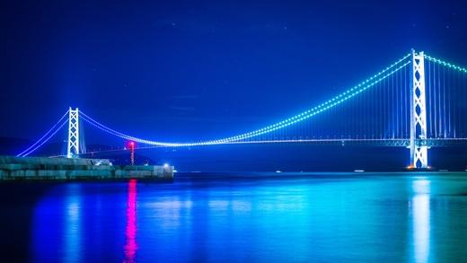 Cây cầu này gópmộtphần trong tuyến đường cao tốc Honshu - Shikoku.(Ảnh: Internet)