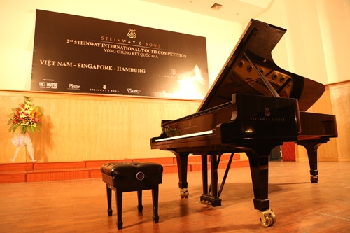 Tưng bừng cuộc thi Steinway International Youth Piano Competition 2016