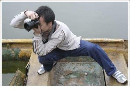 Tương truyền, khi làm nghề nhiếp ảnh, càng có tâm thì càng đỡ tiền đi tập gym. Vì sao ư? Hãy nhìn anh trai này và bạn sẽ hiểu.(Ảnh: Internet)