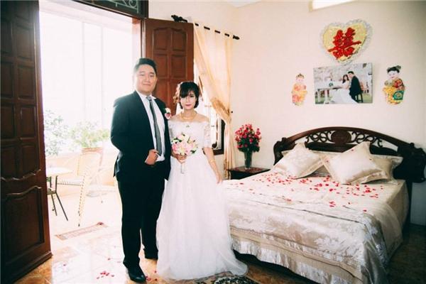 Tháng 10/2014 cặp đôi đáng yêu này đã chính thức tổ chức hôn lễ dưới sự chứng kiến của đông đảo gia đình, người thân và bạn bè hai bên. (Ảnh: Internet)