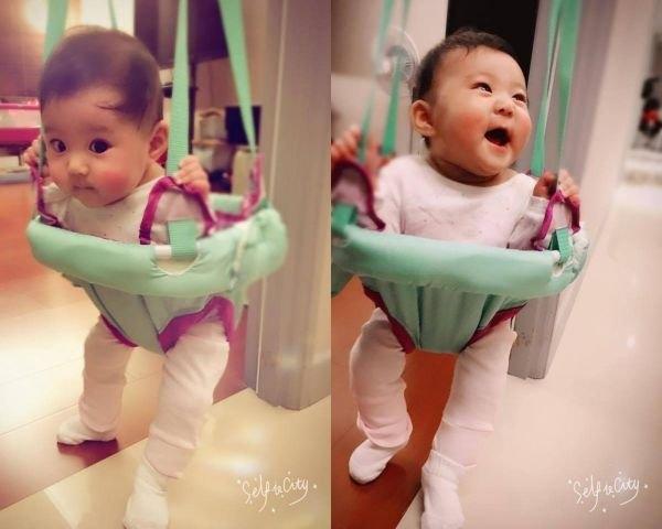 Con gái  Giả Tịnh Văn mới 1 tuổi đã có cát-xê triệu đô