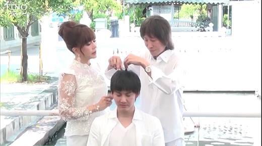 """Man trong """"Tình yêu không có lỗi"""" bất ngờ xuống tóc đi tu"""