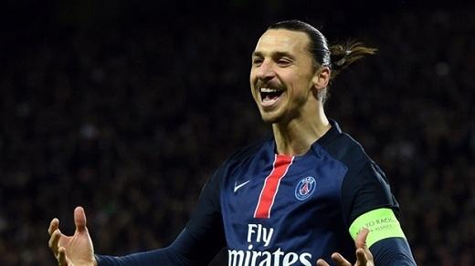 Zlatan Ibrahimovic sẽ trở thành cầu thủ tự do sau mùa giải này. Ảnh: Internet.