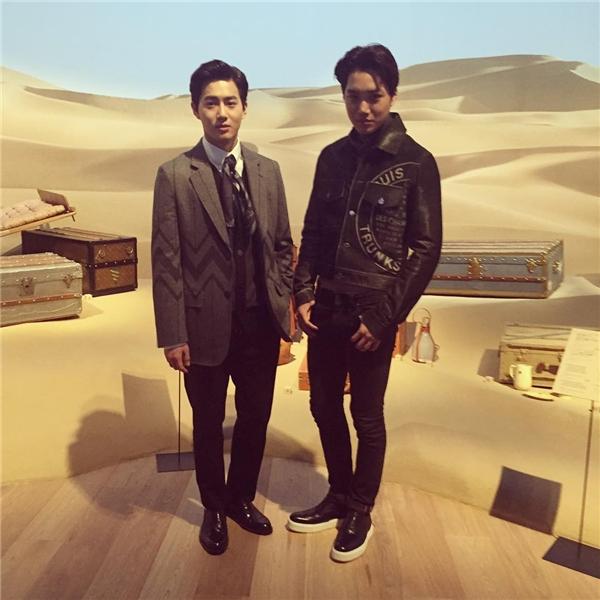 Kai và Suho (EXO) cũng là hai khách mời danh dự đến từ sở xứ kim chi.