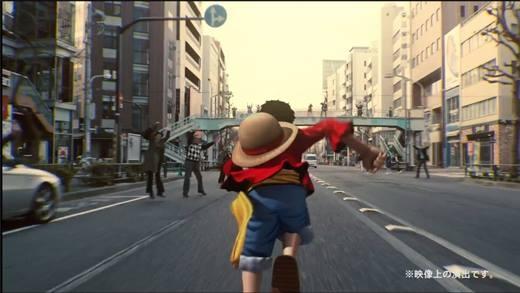 """Vua Hải Tặc """"gây náo loạn"""" giữa đường phố Nhật Bản"""