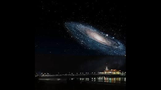 """Cảnh tượng """"nhiệm màu"""" khi các vật thể vũ trụ lại gần trái đất"""