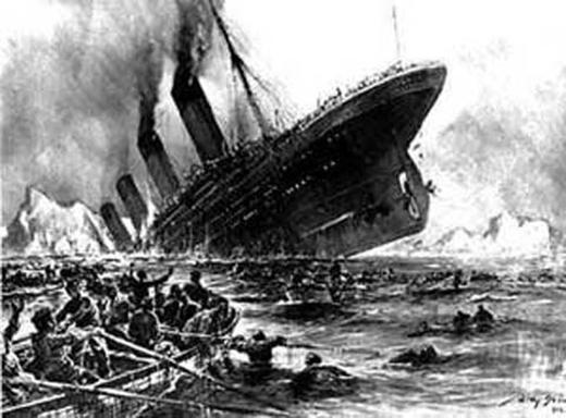 Vị hành khách trên con tàu Titanic đã đi xuyên thời gian. (Ảnh: Internet)