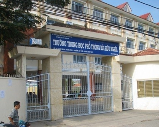 Trường THPT Bùi Hữu Nghĩa tại Cần Thơ. (Ảnh: Internet)