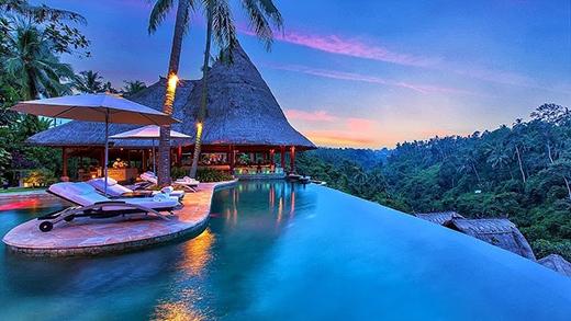 Hòn đảoBali -viên ngọc quý của đất nước Indonesia.(Ảnh: Internet)