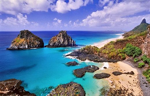Fernando de Noronha từnggiànhdanh hiệu bãi biển đẹp nhất thế giới.(Ảnh: Internet)