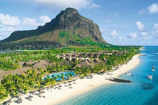 Mauritius đẹp hút hồn.(Ảnh: Internet)