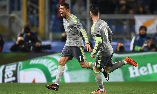 Ronaldo giờ là một phần không thể thiếu của Real Madrid.