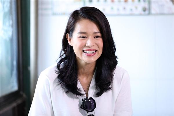 Cận cảnh nhan sắc và nụ cười rạng rỡ của nữ diễn viênHồ Hạnh Nhi