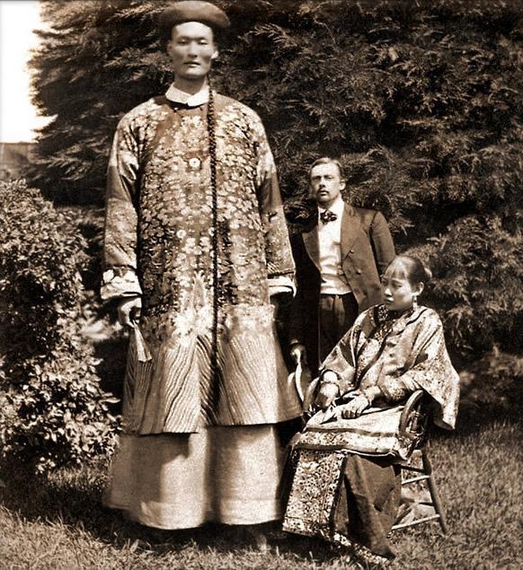 Zhan Shicai, người khổng lồ nổi tiếng thời cuối nhà Thanh, Trung Quốc.