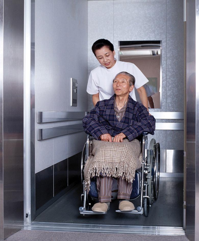 Chiếc gương trong thang máy còn có ý nghĩa cực kì nhân văn.(Ảnh: Internet)