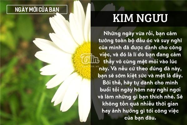 Kim Ngưu (20/04 - 20/05)