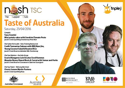 Thịt Kangaroo và cá hồi nổi tiếng của Úc đã có mặt tại TP. HCM